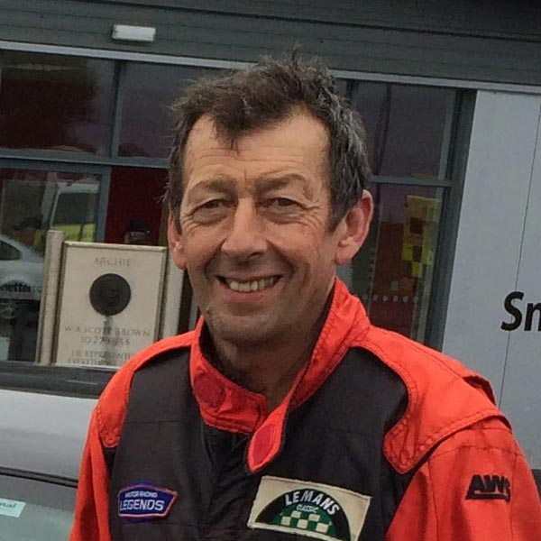 Wil Arif racing driver and race driver coach