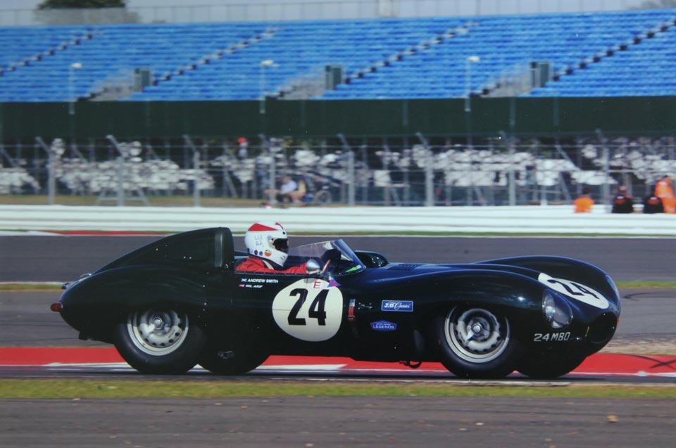 Racing Legends Jaguar at Silverstone