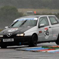 Alfa 145 Thruxton in Wet 17